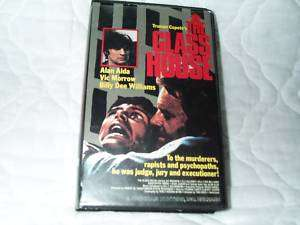 THE GLASS HOUSE VHS ALAN ALDA VIC MORROW UTAH PRISON