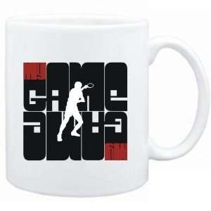 Mug White  My Game   Table Tennis Silhouette  Sports