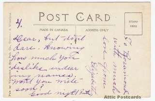 Algonquin Hotel, St Andrews NB Canada, Vintage Postcard