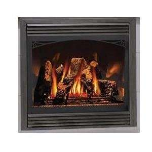 Electronic Ignition Direct Vent Propane Gas Fireplace