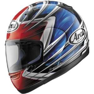 Arai Quantum 2 Motorcycle Helmet Spike   Orange