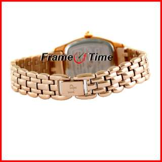 Lucien Piccard Ladies Ventura Diamond Rose Gold Watch