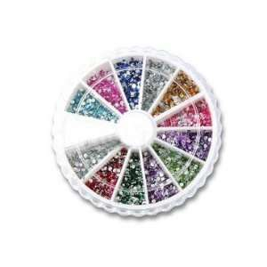 Premium Quality Glitter Nail Art Rhinestone Wheel Kit, Gifts Ideas
