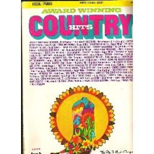 Award Winning Country Hits: Big 3 Music Corp. editors: Books