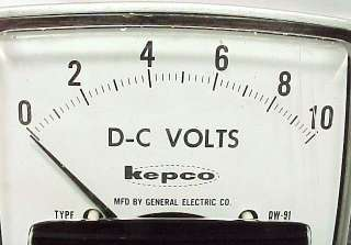 10 AMP 10 VOLT METER S TUBE AMP PREAMP AMPLIFIER POWER TEST DC