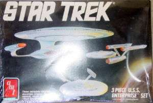 AMT/ERTL Star Trek 3 Pc. ENTERPRISE Model #6618 NEW BOX