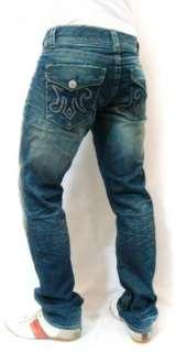 NWT Mens MEK Denim Harbin Straight Jeans Flap Pocket