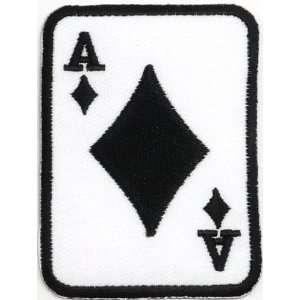 Poker Motorcycle Biker Clothing Jacket Shirt Iron on Patch Free
