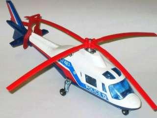Majorette Police Agusta 109 Helicopter Diecast 1/60 Rar