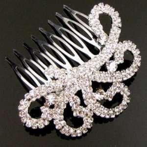 Austrian Rhinestone Hair Comb [Rc17]