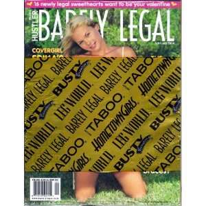 BARELY LEGAL FEBRUARY 2004 HUSTLER MAGAZINE Books