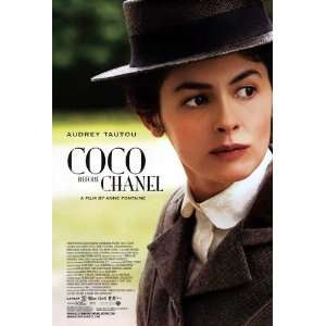 Coco Before Chanel Poster 27x40 Audrey Tautou Benoit