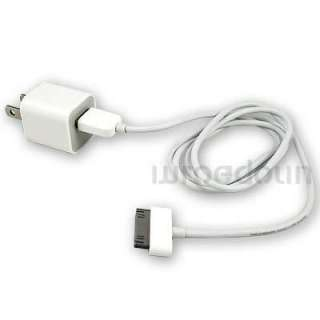 New iPhone 4S Home Car Charger Apple Sync Plug Cable Adapter wall