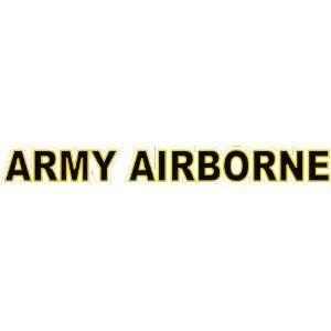 United States Army Airborne Window Strip Decal Sticker 20