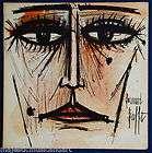 BERNARD BUFFET ORIGINAL ART COVER ELLA FITZGERALD GERSH
