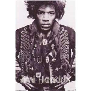 Jimi Hendrix Warrior Poster 24 x 36 Aprox.: Home