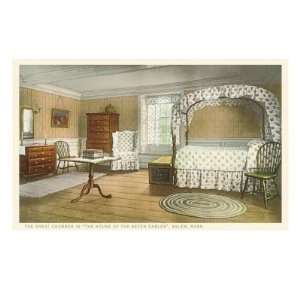Bedroom, House of the Seven Gables, Salem, Massachusetts