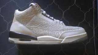 Nike Air Jordan Retro 3 Flip/Cement Shoes, Flips, Size 11, 100% Nike