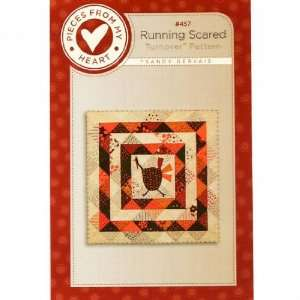 Running Scared Quilt Pattern By The Each: Arts, Crafts
