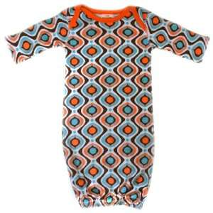 Soy Organic Kaleidoscope Pattern Baby Sack Gown From Baby