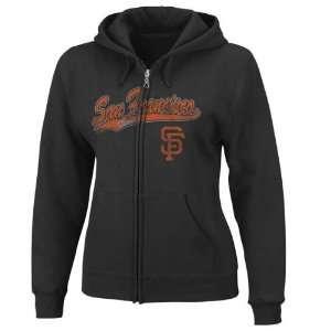 San Francisco Giants Womens Backlot Drama Full Zip Hoodie