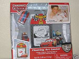 Disney Pixar Cars Floating Art Center Bath Toy Soap
