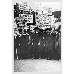 Clothing Workers Strike 20X30 Canvas Giclee