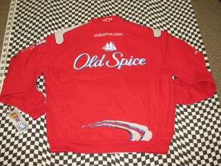 Tony Stewart #14 Red Old Spice 3XL Cotton Twill JH Design Jacket