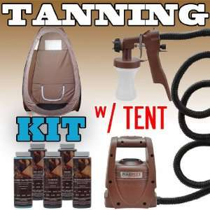 Sunless Spray Mate Tanning KIT TENT Machine Airbrush Tan Air Brush