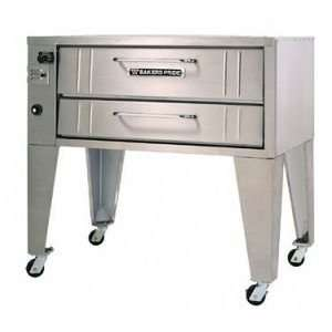 Bakers Pride 3151 Single Deck Gas Pizza Deck Oven  70,000