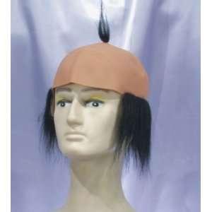Bald Head Wig w/Hair Toys & Games