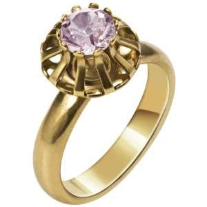 Tropicalia Ring, vintage rose/gold plated Monica di