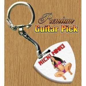 Nicki Minaj Keyring Bass Guitar Pick Both Sides Printed