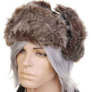 KH1825M Faux Fur Ear Flap Ski Trooper Bomber Mens Hat