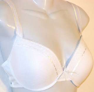ONE BRA 8336(1) white LACE TRIMED UNDERWIRE NEW 42DD