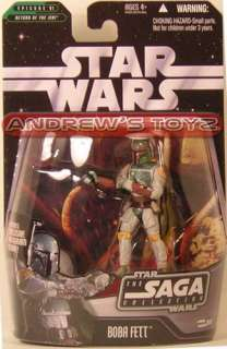 Star Wars Saga 2006 #06 BOBA FETT Karkoon ROTJ