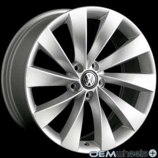 19 SILVER TURBINE WHEELS FITS AUDI A3 A6 TT TTs 8P C6 MK2 QUATTRO VW