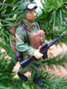 Army Soldier Gun Military Rifle Christmas Tree Ornament