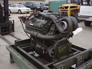 8V71T DETROIT DIESEL ENGINE MILITARY REBUILD