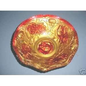 Antique Goofus Glass Bowl