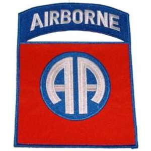 U.S. Army 82nd Airborne Patch 8 3/4 Patio, Lawn & Garden