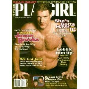 Playgirl Magazine: December 1995: Charmian Carl: Books