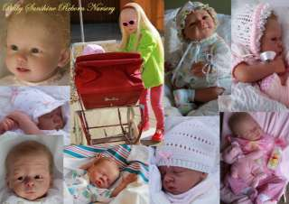 Baby Sunshine Reborn Girl Toddler Doll Bonnie by Linda Murray 99p NO