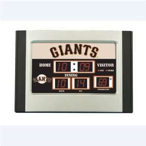 San Francisco Giants MLB Scoreboard Desk Clock (6.5x9