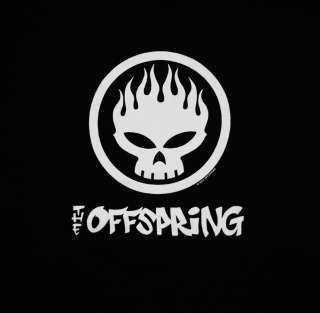 The Offspring Conspiracy Of One Skull Logo Rock Band Adult T Shirt Tee