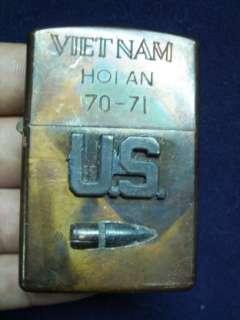 Original Vietnam War Zippo 1970 71 US Army
