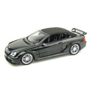 Mercedes Benz CLK DTM AMG Cabriolet 1/18 Black Toys