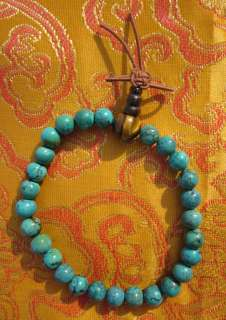 Tibetan Buddhist CUSTOM DESIGN RARE GENUINE ALL NATURAL TURQUOISE