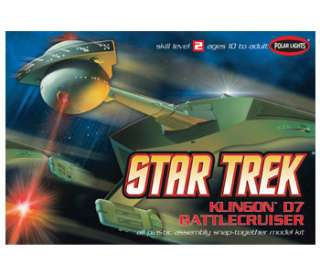 Polar Lights Star Trek Klingon D7 Battlecruiser POL806