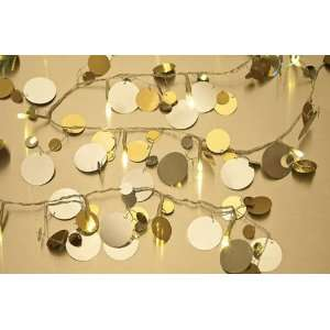 Big Sequins Lighted Garland (battery operated LEDs)